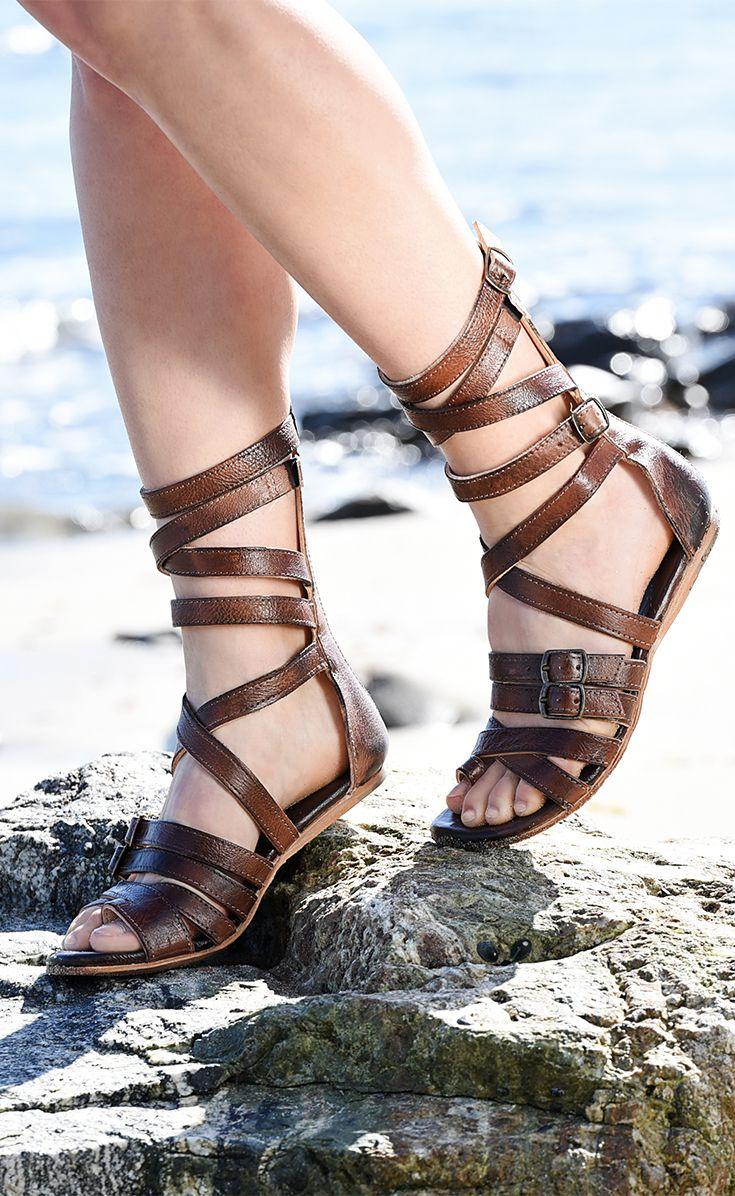 74b217df248 A unique BEDSTU brown gladiator sandal