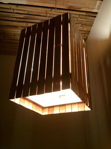 Reclaimed Wood Light | Pinterest | Light decorations ...