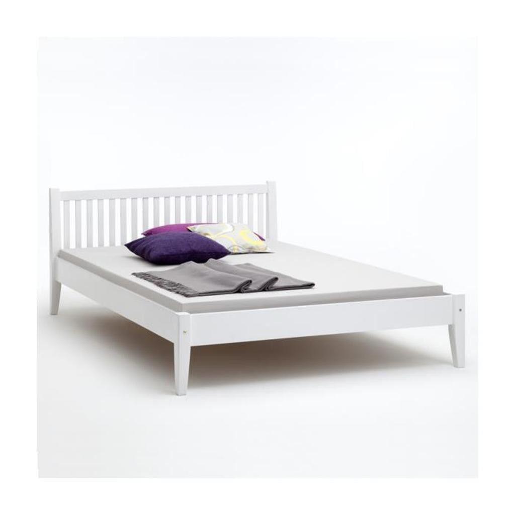 Einzelbett 120 200 Fresh Einzelbett Sonja Buche Massiv 120 200 Cm Klassisches In 2020 Weisses Bett Bett 120x200 Bett 120
