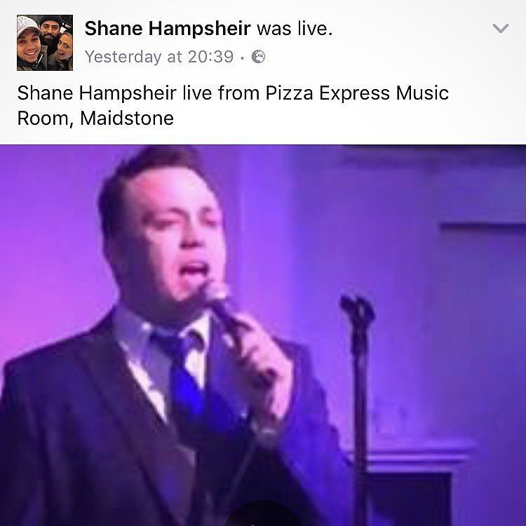What A Great Night Down At Pizzaexpressuk Maidstone Last Night We Performed Songs Made Famous By Franksinatra Stevelang Micha Singer Michael Buble Songs