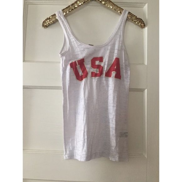 America Alternative apparel tank Tops Tank Tops