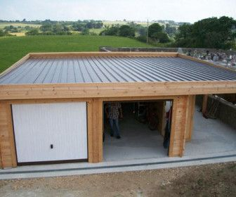 Comment Construire Garage Toit Plat Photo