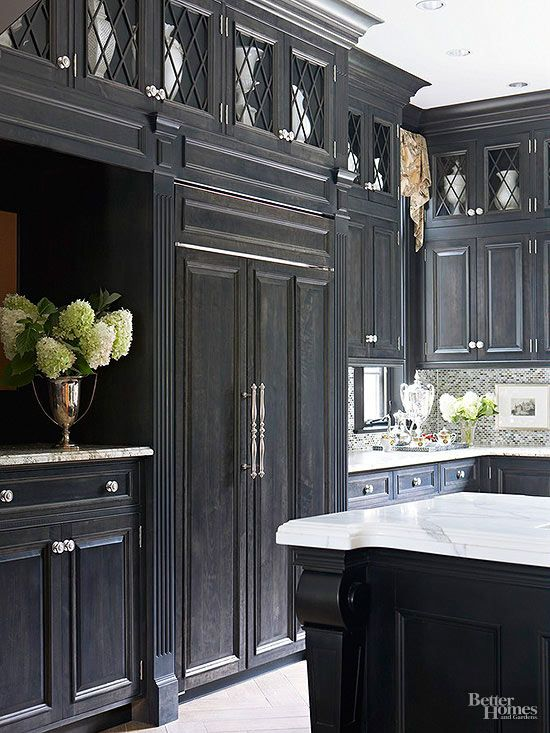 Is This the Most Dramatic Kitchen Ever?   Kitchen cabinet ...