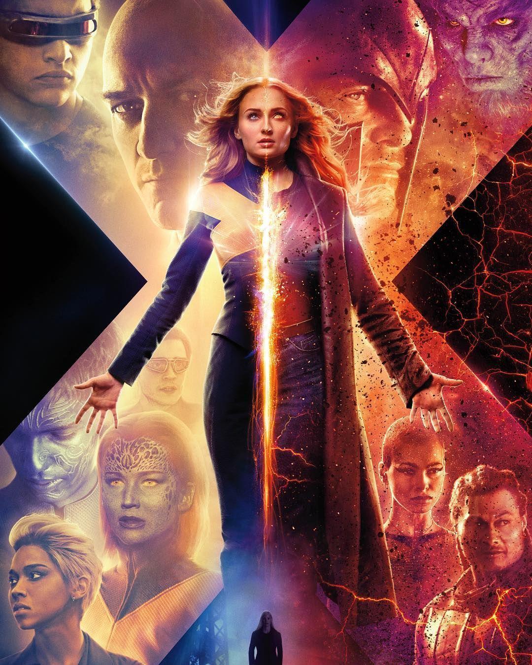 Sophie Turner On Instagram The New Darkphoenix Poster Has Arrived Trailer Tomorrow Night Dark Phoenix X Men Full Movies