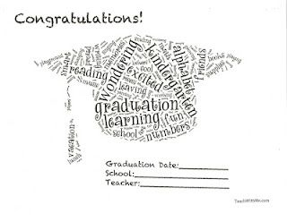 Preschool or Kindergarten Graduation Certificates