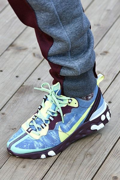 size 40 306f8 92643 Sadie Sink and UNDERCOVER Reveal the Nike React Element 87   KUTSU    Pinterest