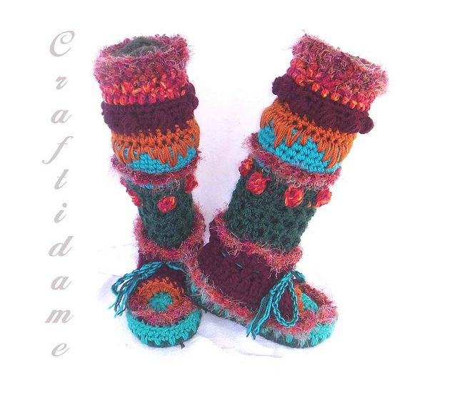 free crochet pattern converse adult slippers   How To Crochet ...