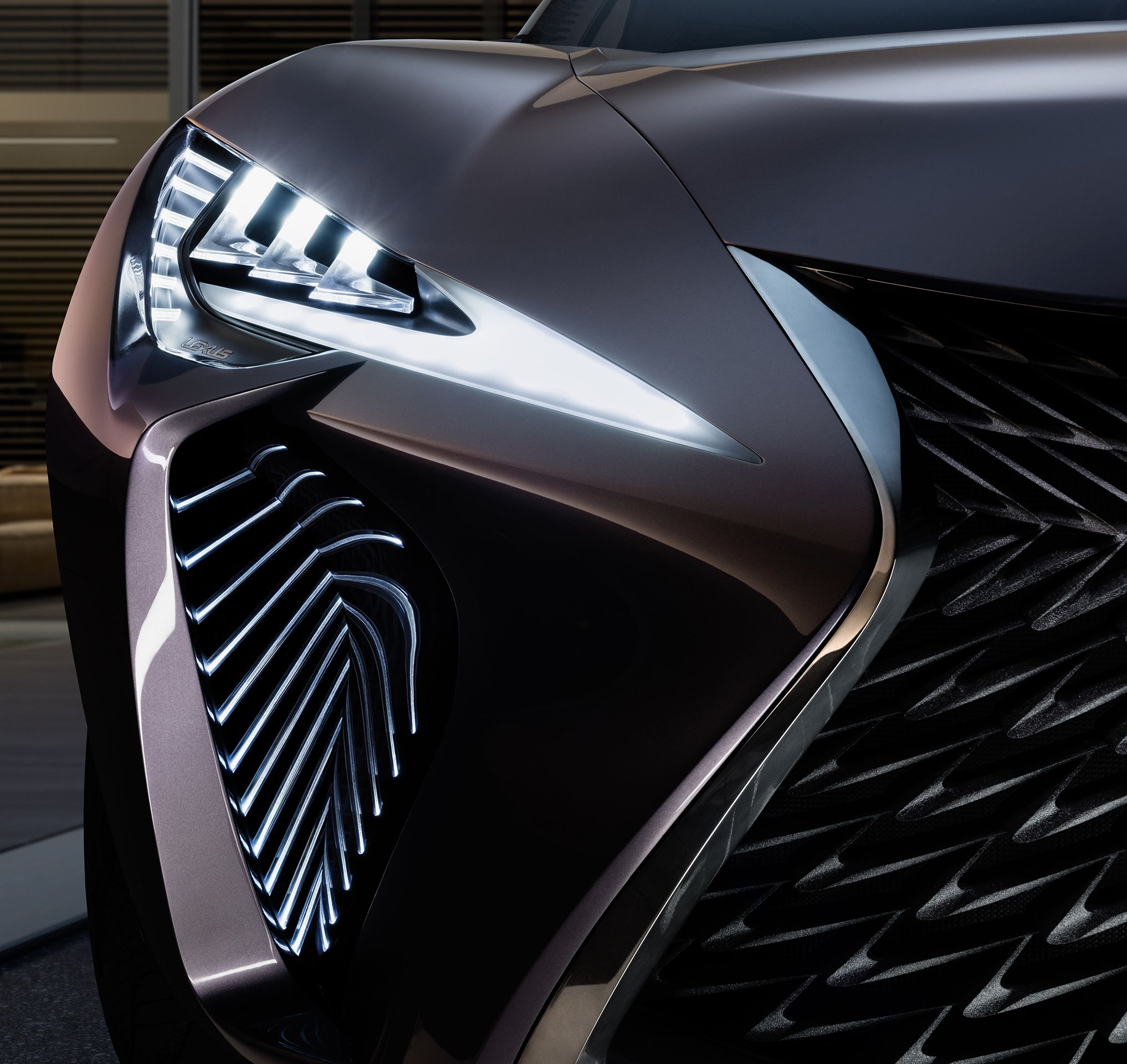 Ux 200 Concept Cars Lexus Car Headlights