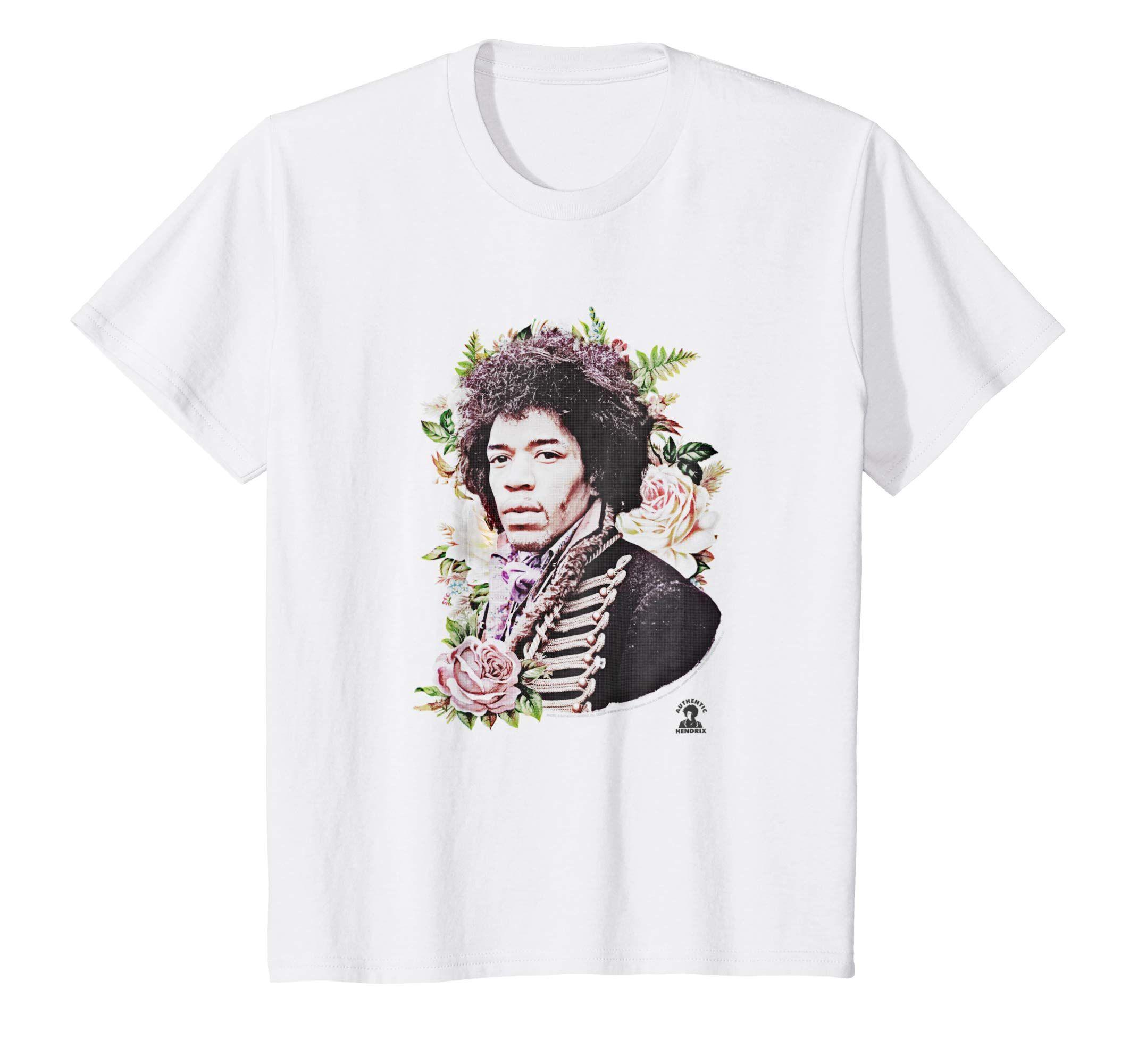 Jimi Hendrix Icon T ShirtColonhue Mens tops, T shirt