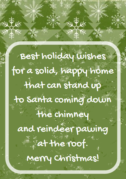 Christmas Messages From Realtors Agents Examples Christmas Messages Realtor Christmas Cards New Home Messages