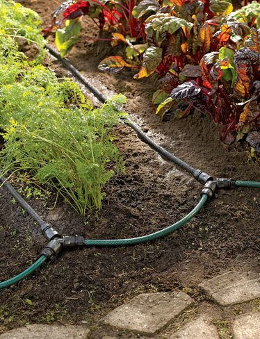 Garden Row Snip N Drip Soaker System Lets You Create A Convenient Watering System For Your