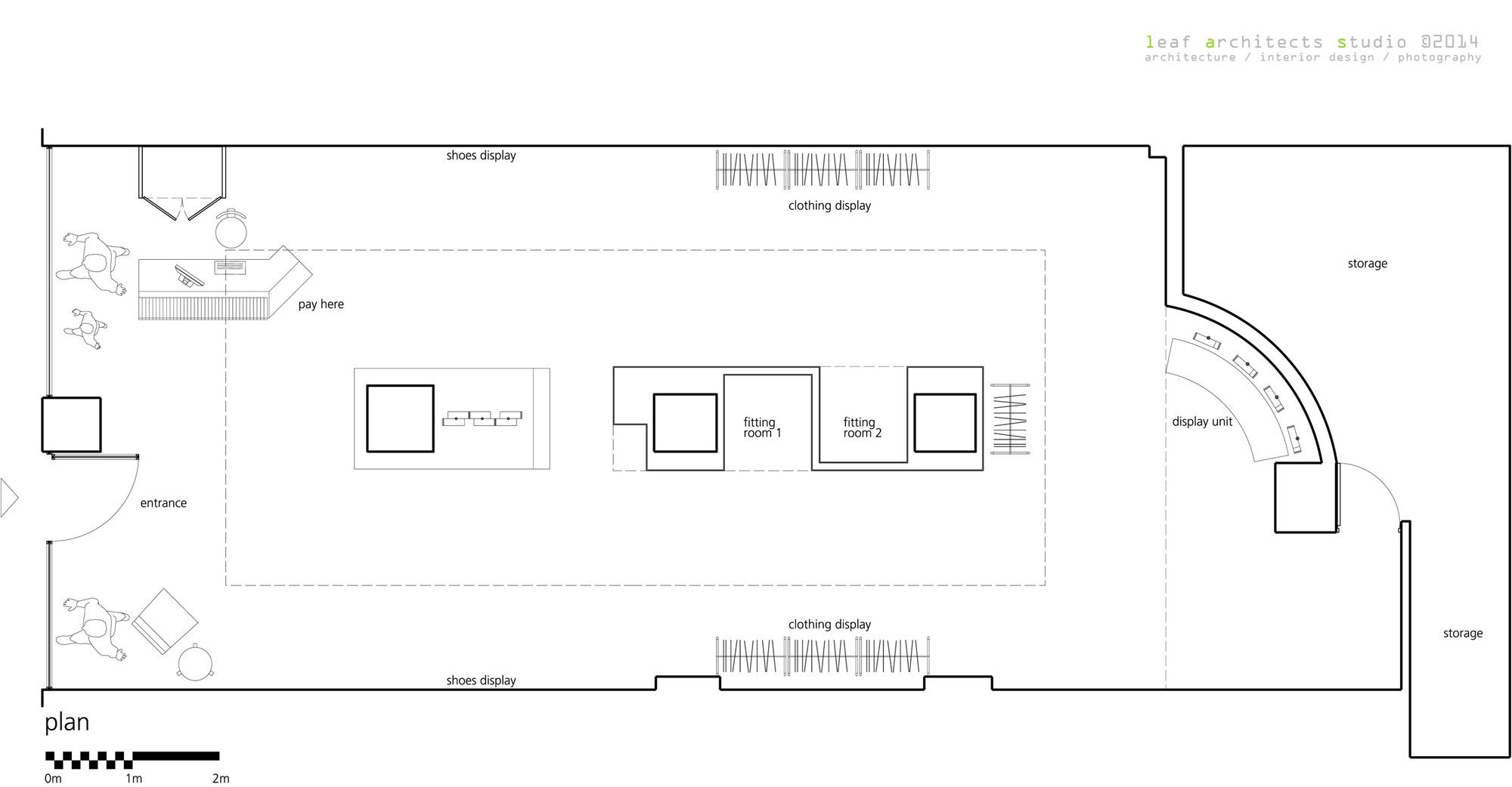 Gallery Of Ai Sport Leaf Architects Studio 16 Store Plan How To Plan Architect