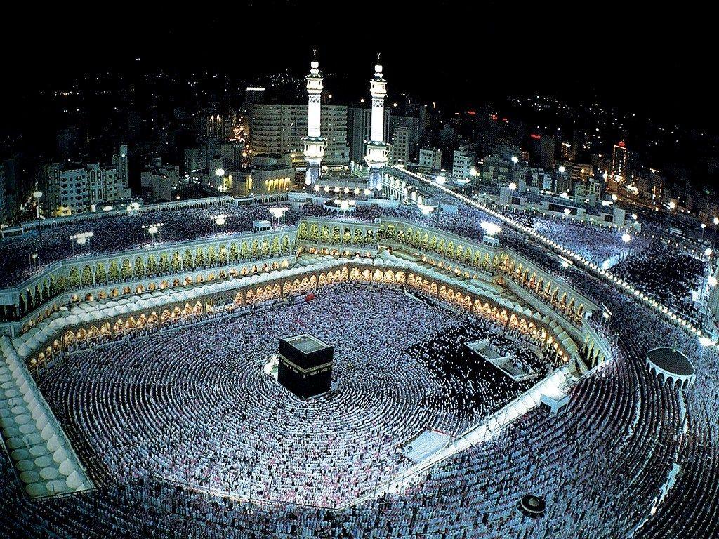 Hajj Kaaba At Night Hd Pictures Hajj Wallpapers Mekah Mekkah Dunia