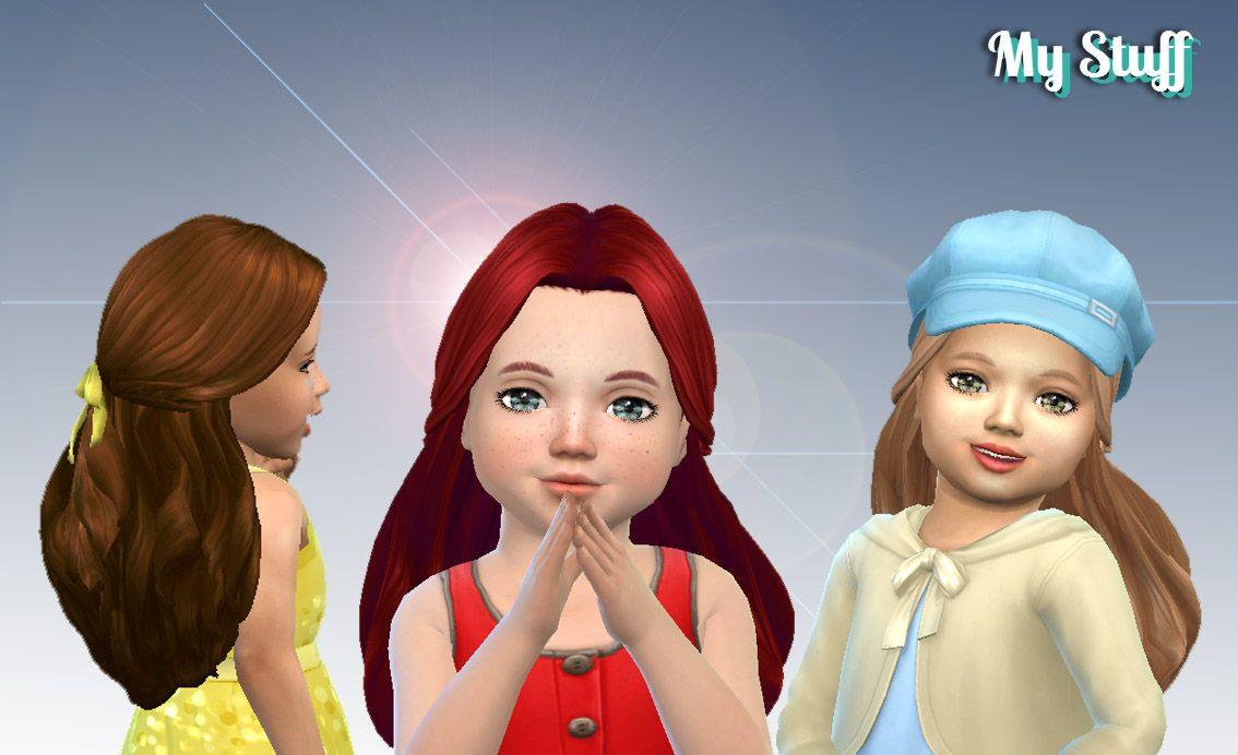 Mystufforigin: Catherine Hair retextured  - Sims 4 Hairs - http://sims4hairs.com/mystufforigin-catherine-hair-retextured-2/