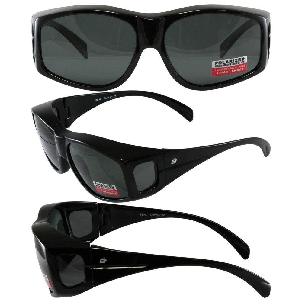Birdz Beak Polarized and Fit Over Most Eyeglasses