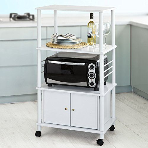 SoBuy Microwave Shelf Minishelf Kitchen Appliances Storage Shelf ...