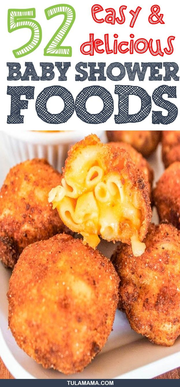 55 Easy Delicious Baby Shower Food Ideas Finger Food Recipes