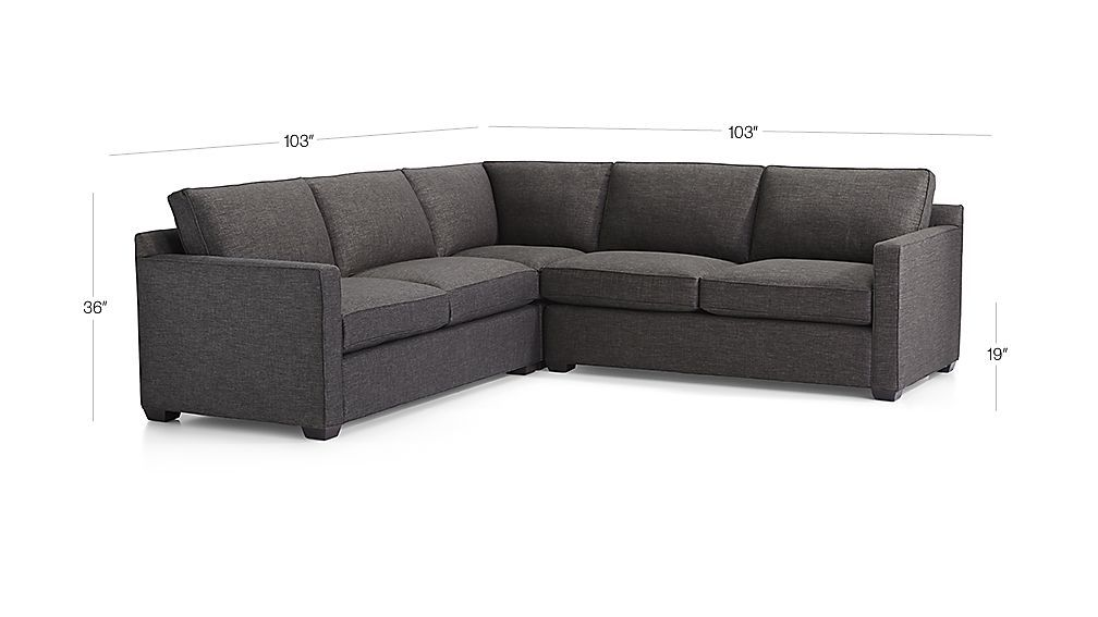 Admirable Davis 3 Piece Sectional Sofa Family Room 3 Piece Ibusinesslaw Wood Chair Design Ideas Ibusinesslaworg