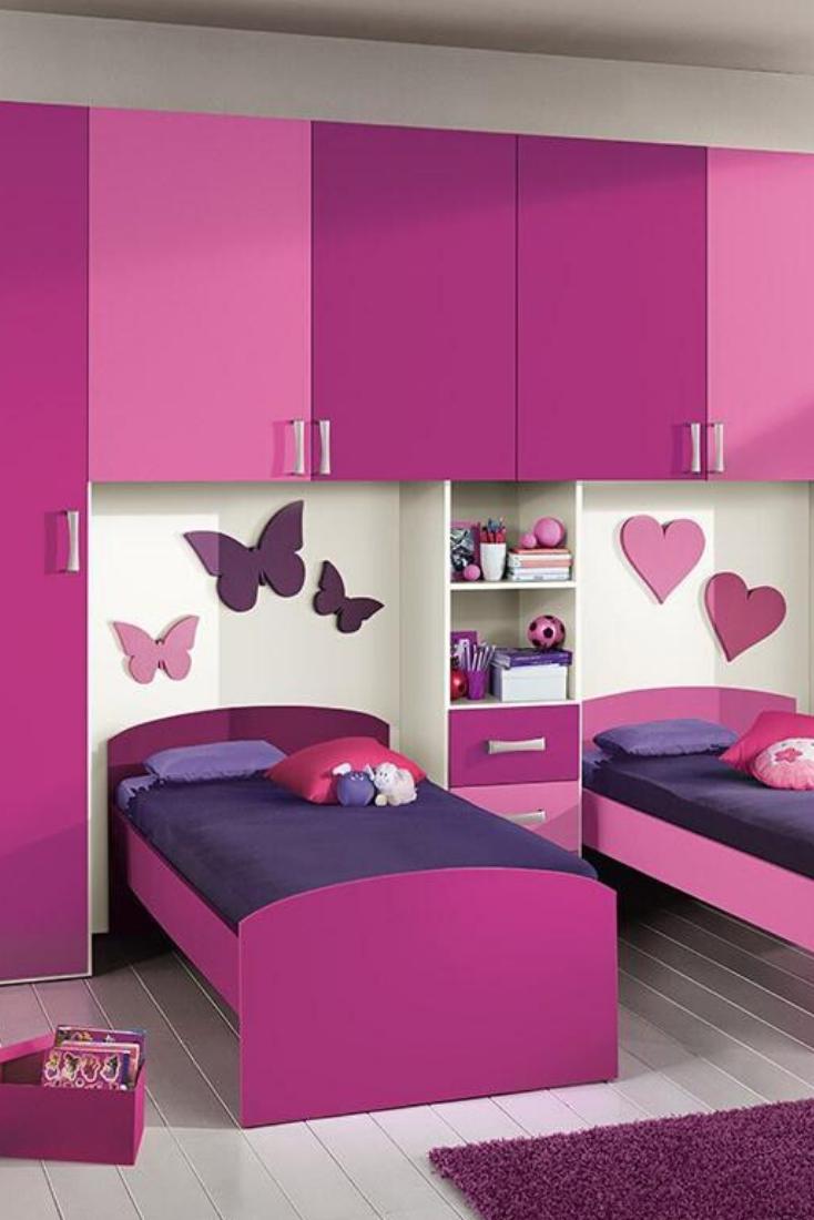 Pink Beautiful Kids Bedroom Design Decoomo