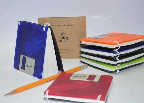 disquetes - blocos de notas