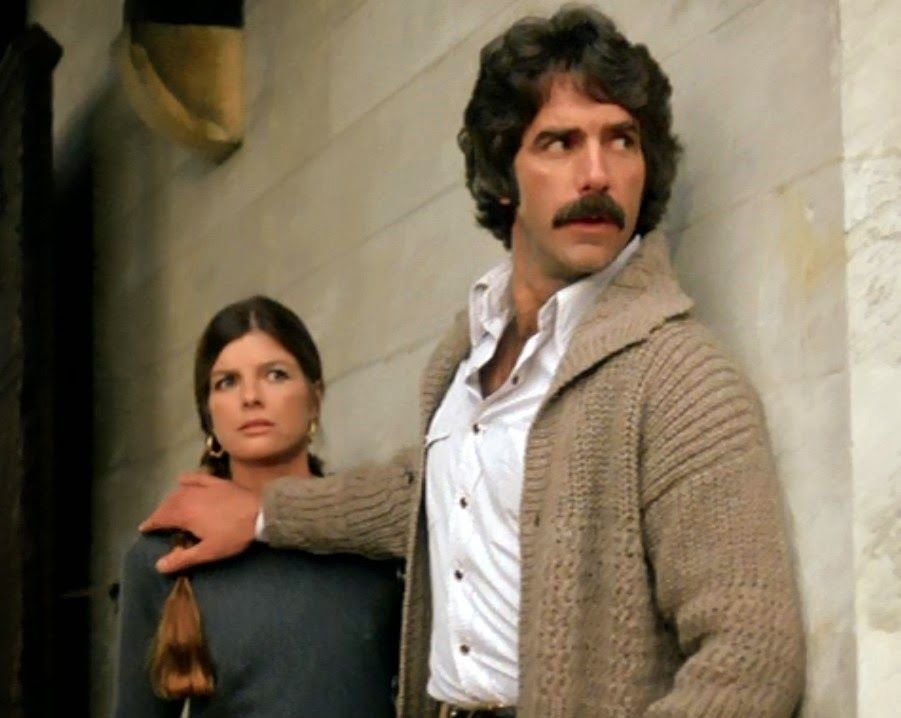 Sam Elliott And Katharine Ross In The Movie The Legacy
