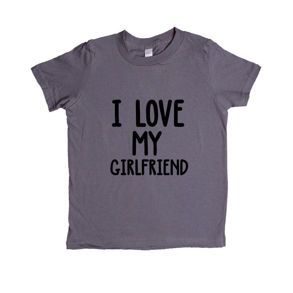 I Love My Girlfriend Boyfriend Loving Lovers Relationship Relationships Dating Dates Date Unisex Adult T Shirt SGAL3 Unisex Kid's Shirt