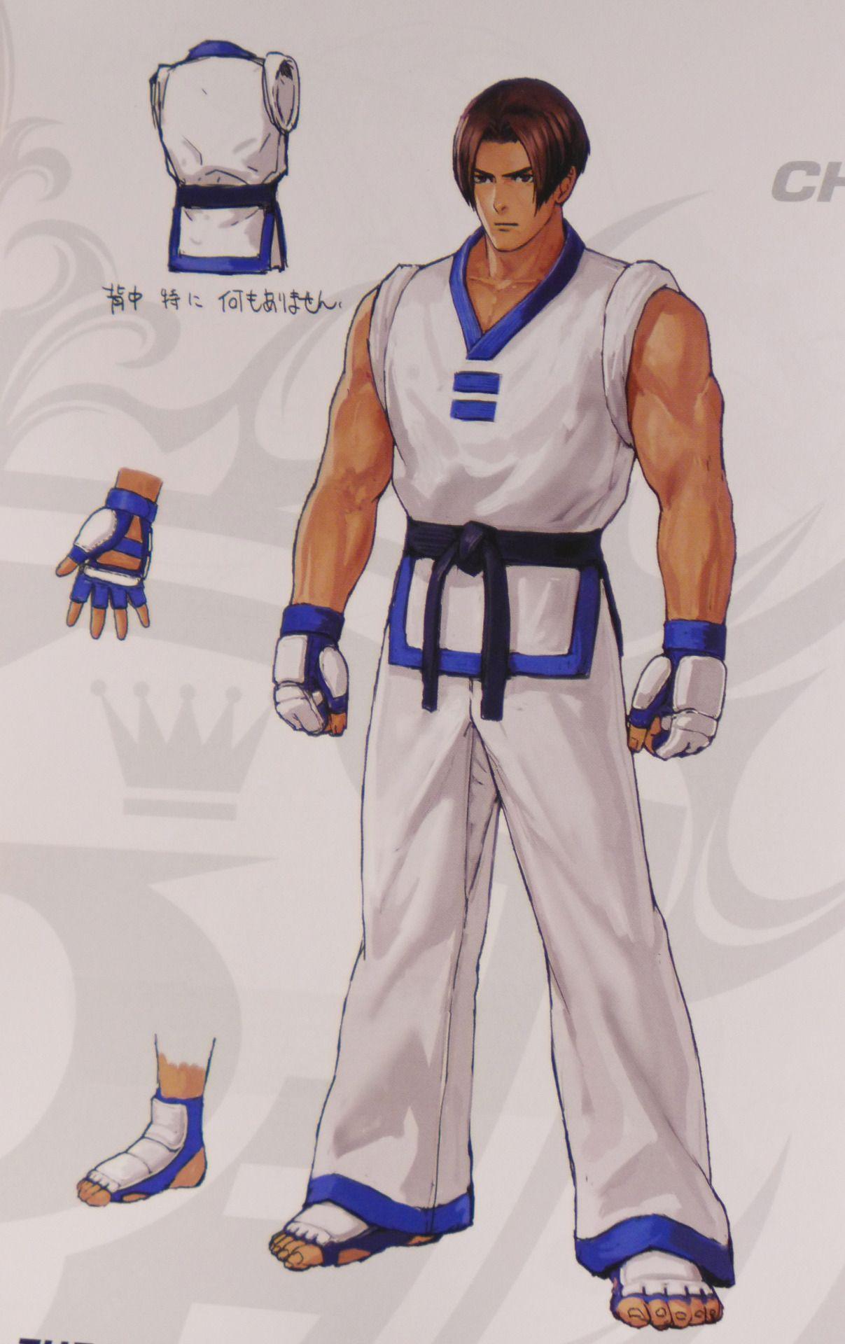 kim kaphwan kof xiv artbook king of fighters fighter street fighter pinterest