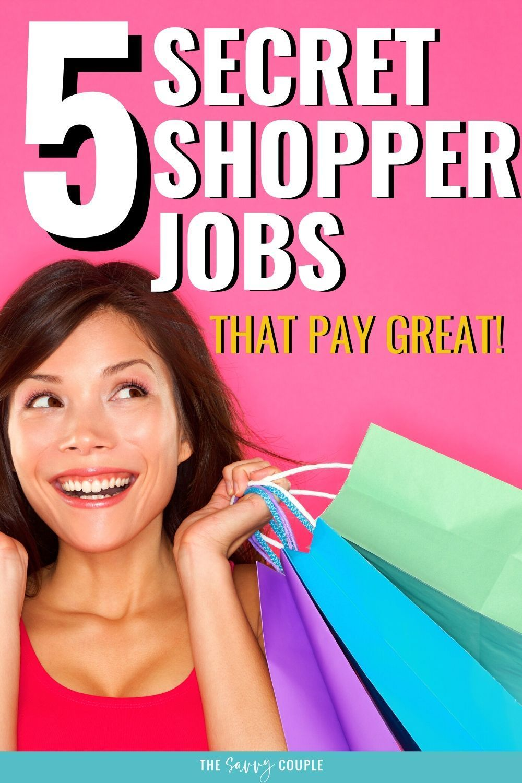 5 Best Mystery Shopper Jobs That Pay Great Secret