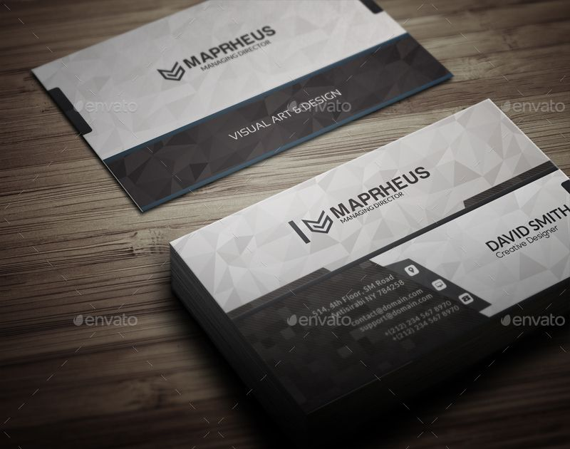 Arena Business Card