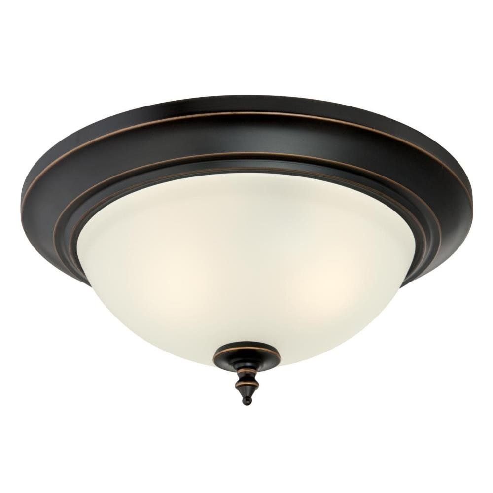 6304800 Harwell Two Light Indoor Flush Mount Amber Bronze Finish With Frosted Glass Lightfixtures Lighting Decor Ligh Bronze Flush Ceiling Lights Light