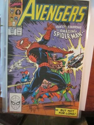 AVENGERS #317 with Spider-man Marvel Comics Free Shipping