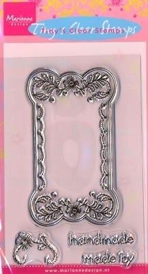 Tiny's Clear stamps Handmade TC0809 - Clear Stamps Tiny - Stempel Techniek Hobbyshop Nellie Snellen