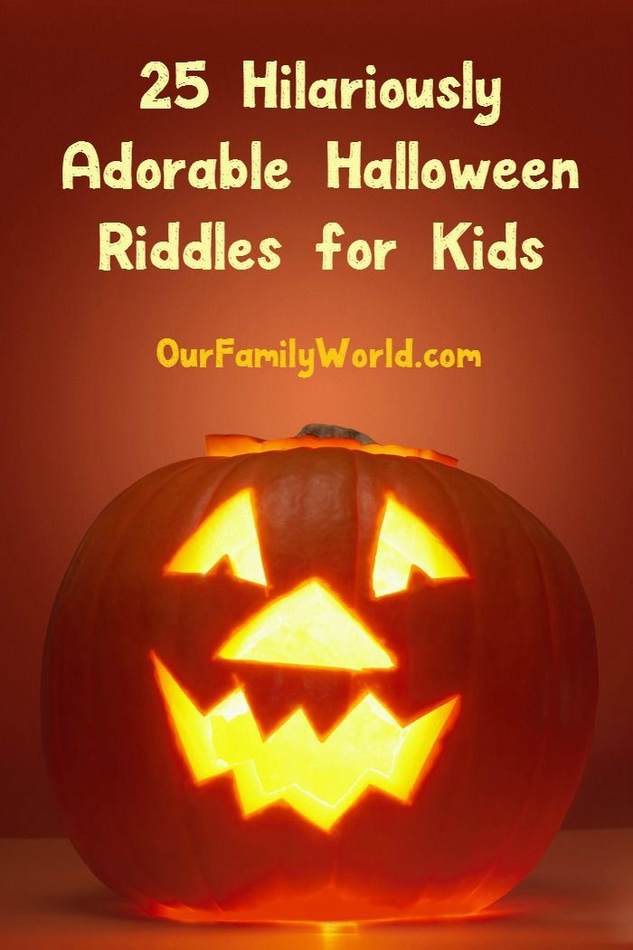 25 Hilariously Adorable Halloween Riddles for Kids | Halloween ...