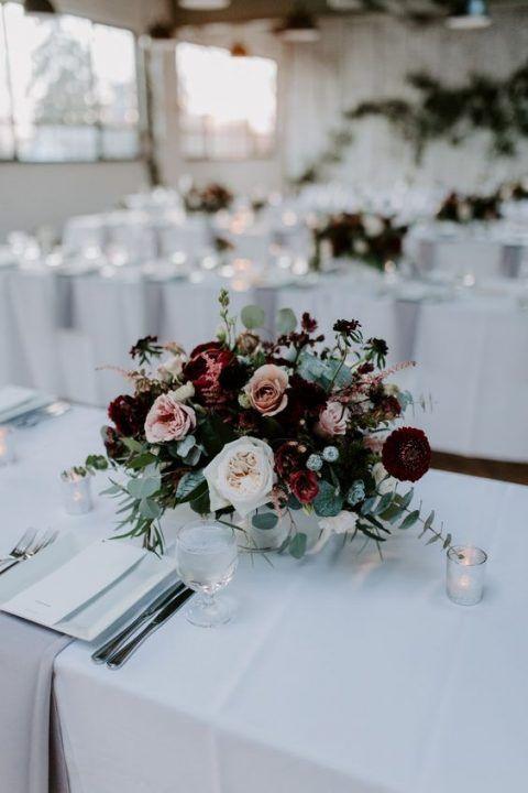 Photo of 26 lindos centros de mesa de bodas de Navidad Undbraut.com