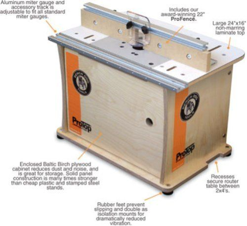 Bench Dog 40 001 Protop Contractor Benchtop Router Table Amazon Com
