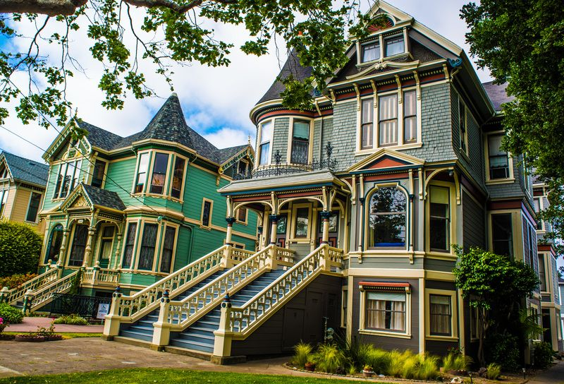 Victorian Houses In California Alameda Ca Detailed Profile