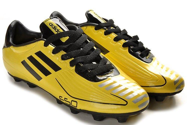 Adidas f50 adizero trx fg soccer cleats yellow black