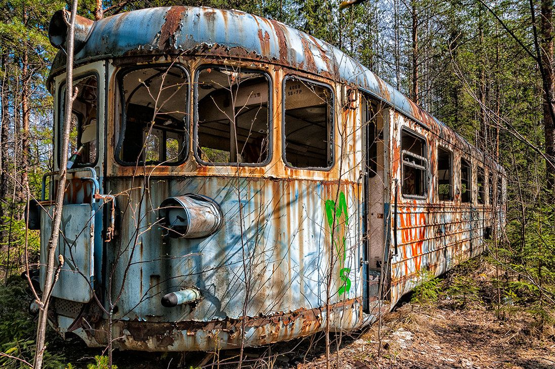 Train In The Woods 1 by JIPIC