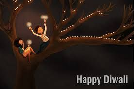 Image result for modern diwali greeting cards