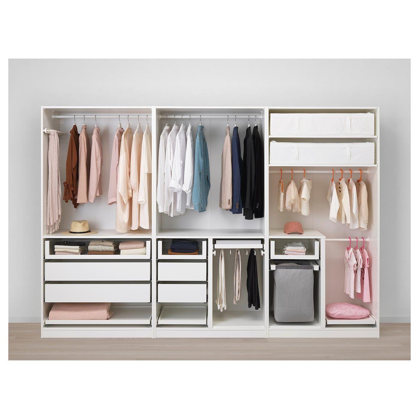 Wardrobe White Kirkenes Cork Veneer 118 1 8x23 5 8x79 1 4 In 2020 Pax Wardrobe Ikea Pax Wardrobe Ikea Pax