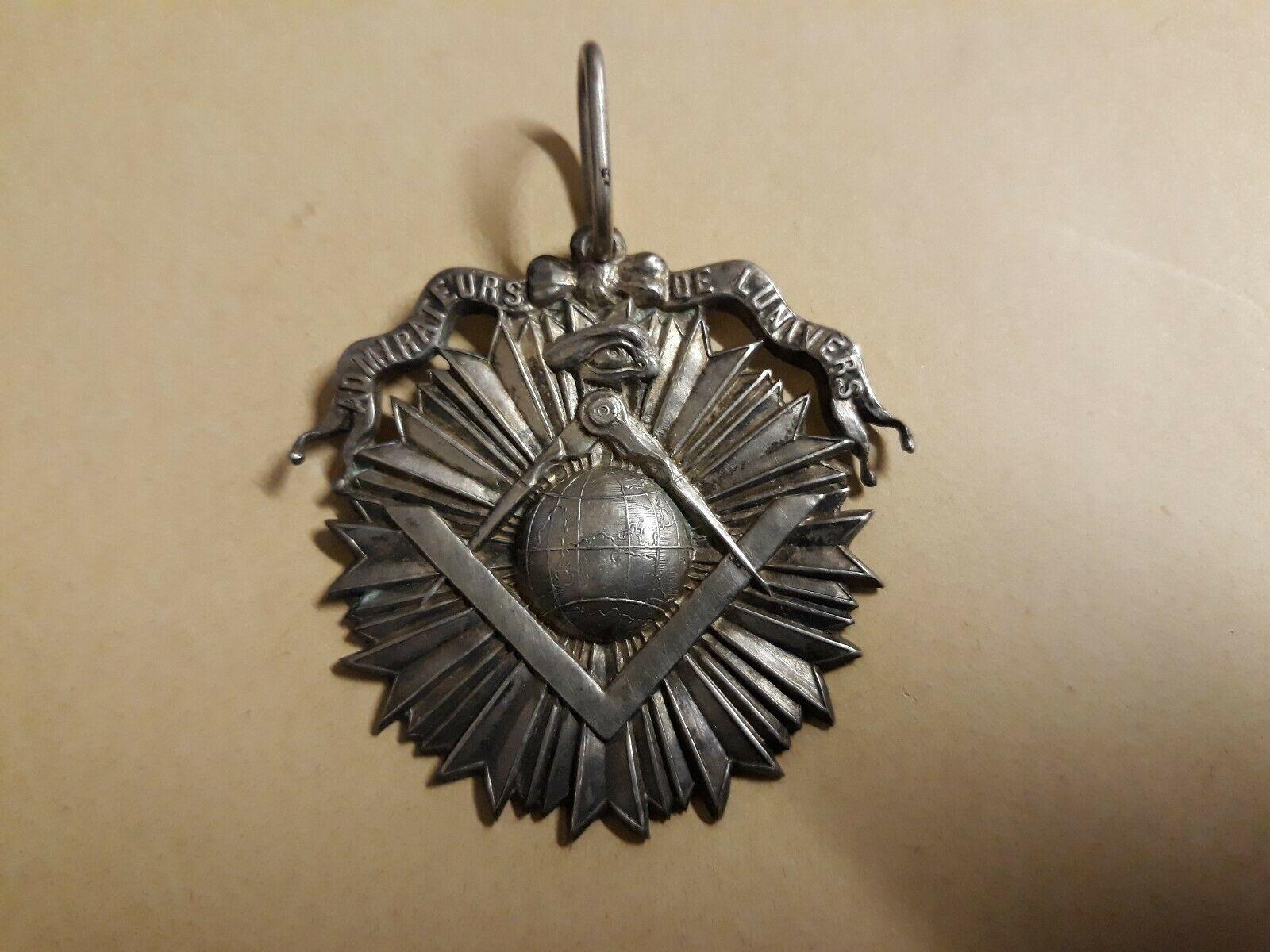 Ancien Insigne Franc Macon Medaille Maconnique Admirateurs De L Univers 5855 Ebay Medaille Franc Macon Insignes