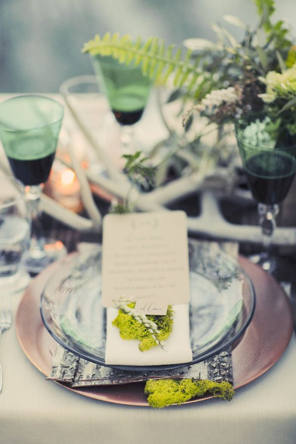 woodland fairytale wedding  |  gideon photography #rustic #forest #wedding