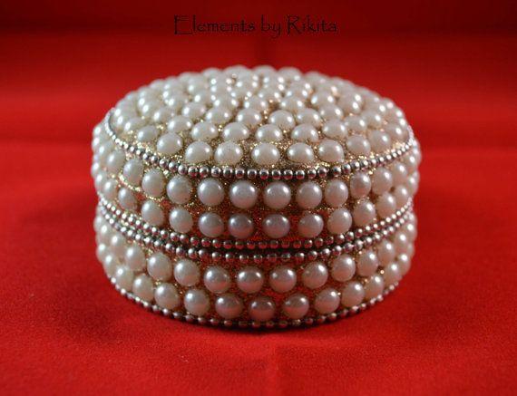 Handmade Jewellery Boxes storage with inlaid by ElementsbyRikita, $25.00