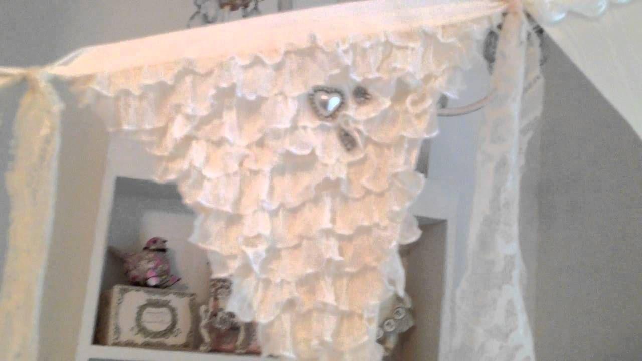 Rustic Wedding Fabric Banner
