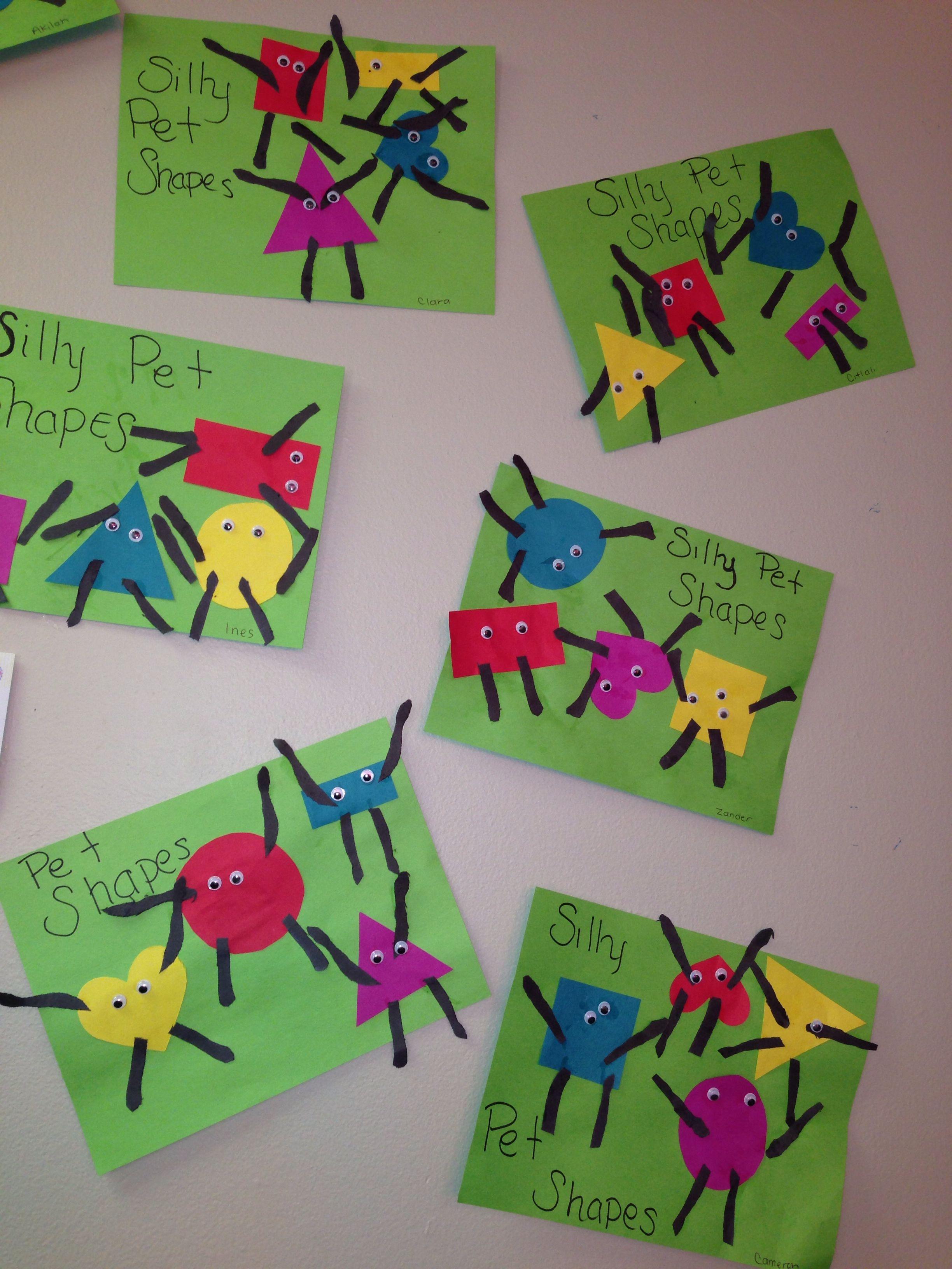 Preschool Shapes Activities Crafts