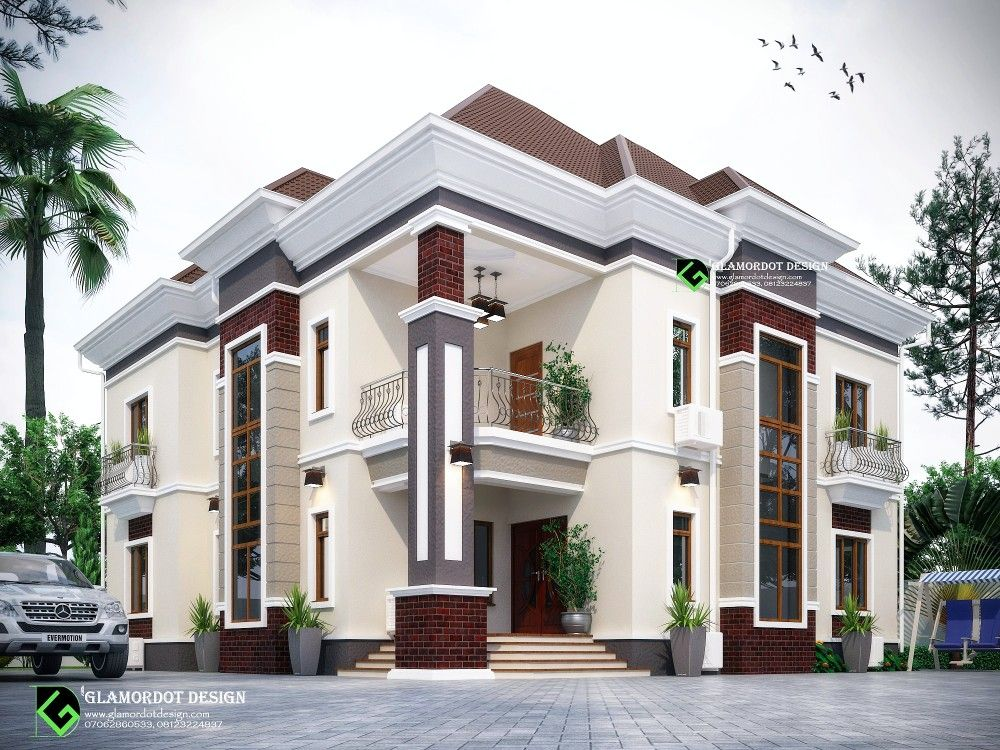 Proposed 5 bedroom duplex in Imo state, Nigeria. For ...