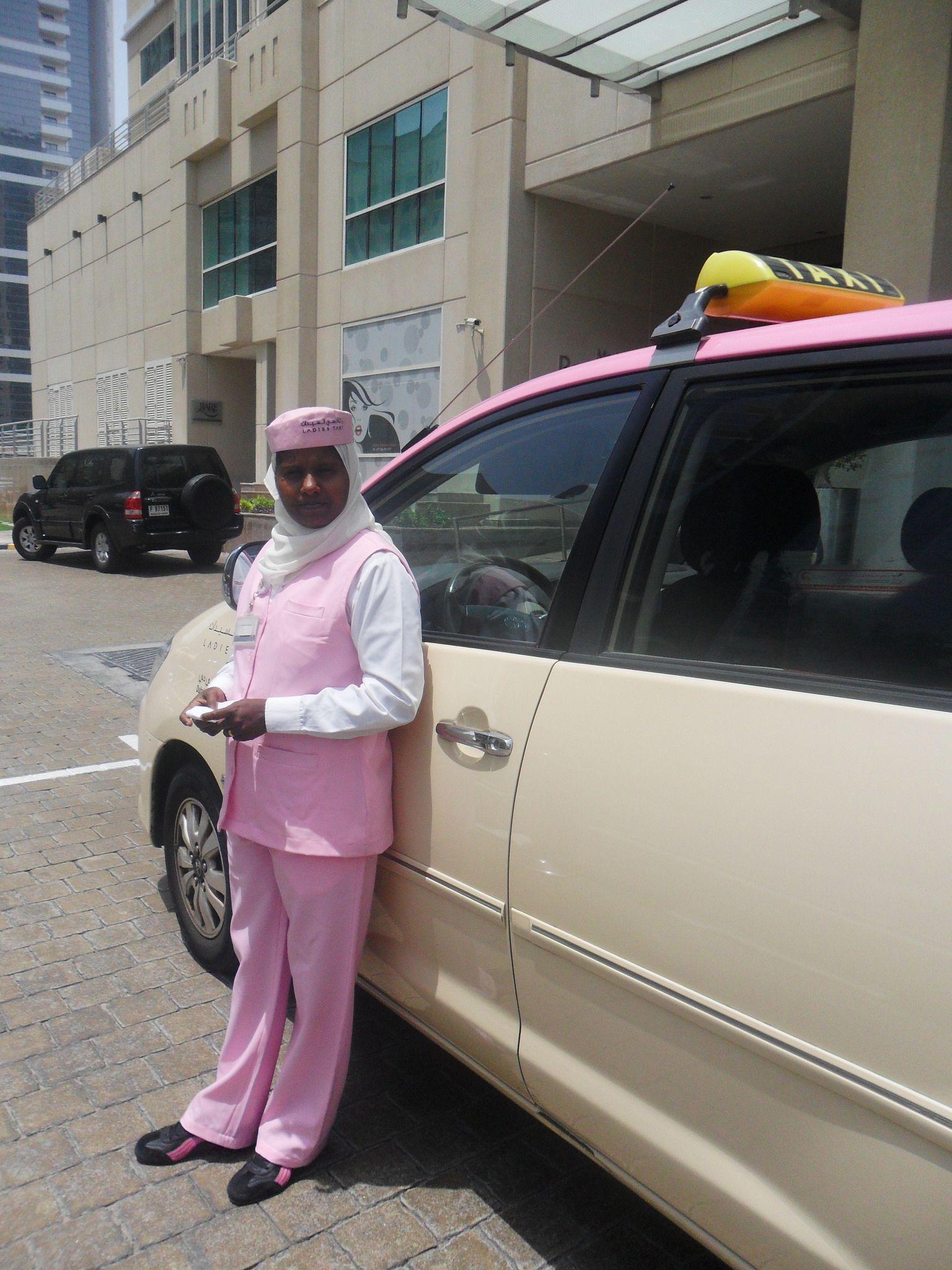 Female Taxi Driver In Dubai In 2020 Taxi Driver Cab Driver Female