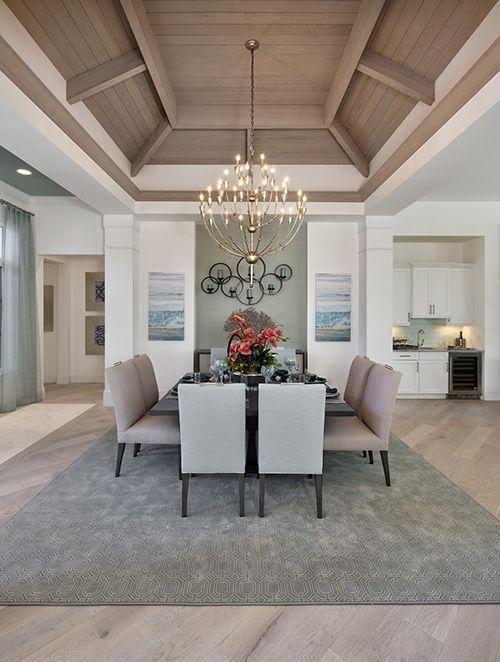 Custom Diningroom Design By The Naples Architect Weber Design