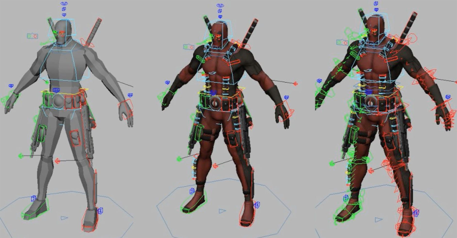 3d character animation download free
