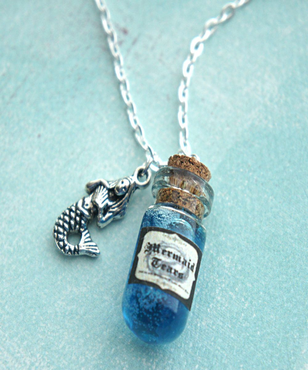 mermaid's tears potion necklace